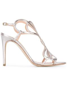 metallic sandals Rupert Sanderson