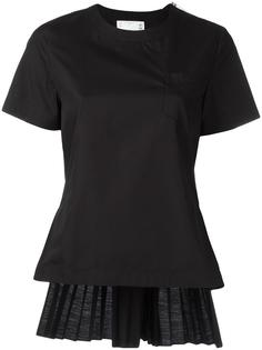 accordion pleat top Sacai