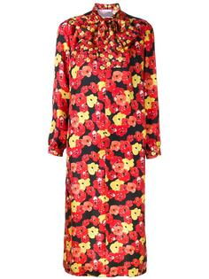 floral print shift dress Saks Potts