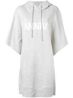 Anniv oversized hoodie dress Mm6 Maison Margiela