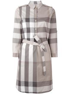 checked shirt dress Burberry