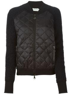 куртка со стеганой панелью Moncler