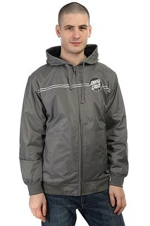 Куртка Santa Cruz Dot Windbreaker Charcoal