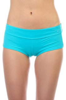 Трусы женские Oakley Real Gone Swim Short Bright Aqua