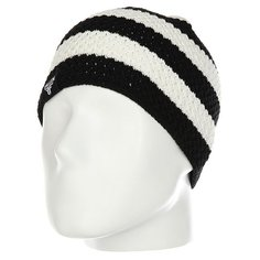 Шапка Fallen Buffalo Striped Knits Beanie Black/White