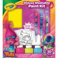 Набор с красками, Тролли Делюкс Crayola