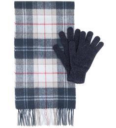 Комплект из перчаток и шарфа Barbour