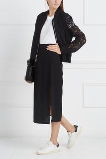 Однотонная юбка Mo&Co