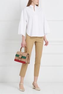 Хлопковая блузка Valentino
