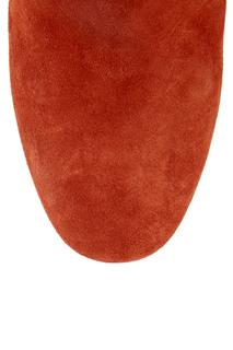 Замшевые сапоги Red Valentino