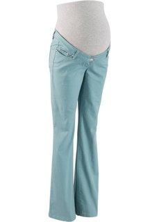 Мода для беременных: брюки Bootcut, cредний рост (N) (черный) Bonprix