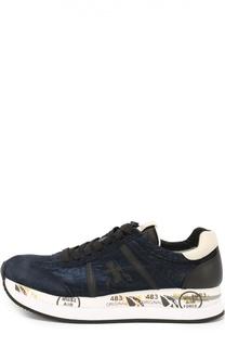Комбинированные кроссовки Conny на подошве с принтом Premiata