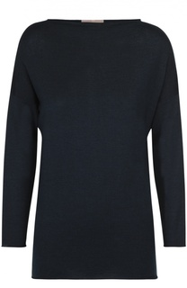 Кашемировый пуловер с вырезом-лодочка и укороченным рукавом Cruciani