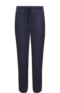 Хлопковые брюки прямого кроя James Perse