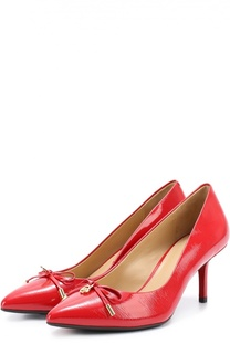 Лаковые туфли Nancy с бантом MICHAEL Michael Kors