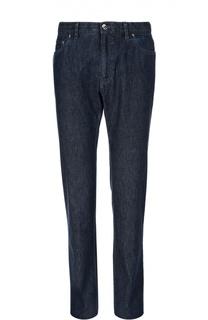 Классические джинсы из хлопка Brioni