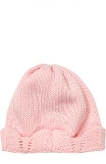 Вязаная шапка с декоративной отделкой Catya