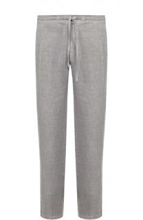Льняные брюки свободного кроя 120% Lino
