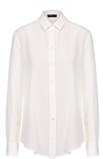 Шелковая блуза свободного кроя Joseph