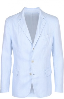 Льняной приталенный пиджак 120% Lino
