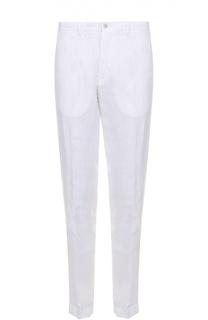 Льняные брюки прямого кроя 120% Lino