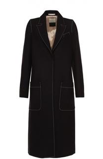 Пальто прямого кроя с контрастной прострочкой By Malene Birger