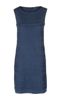 Шелковое вязаное платье без рукавов Loro Piana