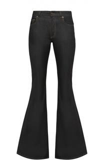 Расклешенные джинсы с контрастной прострочкой Tom Ford