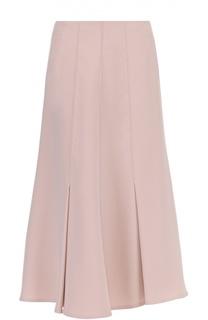 Шелковая расклешенная юбка-миди Giorgio Armani