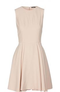 Приталенное платье без рукавов Alexander McQueen