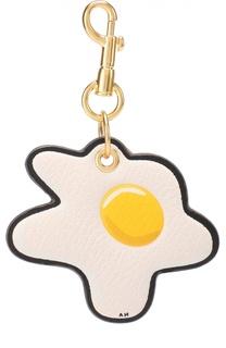 Кожаный брелок Egg Anya Hindmarch