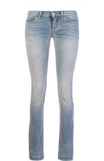 Прямые джинсы с потертостями Dolce & Gabbana