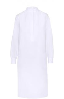 Платье-рубашка прямого кроя с воротником-стойкой Atlantique Ascoli