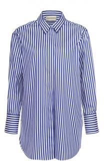 Блуза свободного кроя в контрастную полоску By Malene Birger