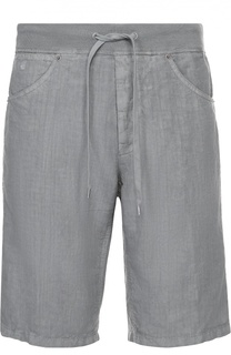 Льняные бермуды с карманами 120% Lino