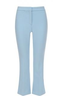 Укороченные расклешенные брюки со стрелками Theory