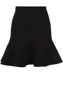 Мини-юбка с оборкой MCQ