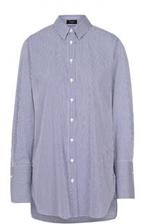 Блуза свободного кроя в контрастную полоску Joseph