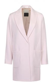 Пальто прямого кроя с накладными карманами By Malene Birger