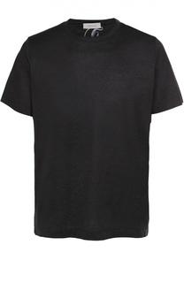Хлопковая футболка с круглым вырезом Cortigiani