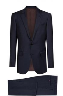 Шерстяной приталенный костюм Ermenegildo Zegna