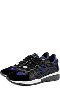 Комбинированные кроссовки 551 с принтом Dsquared2