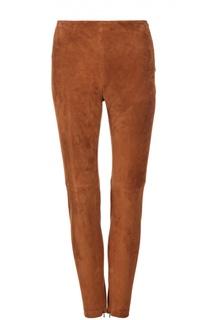 Замшевые брюки Ralph Lauren