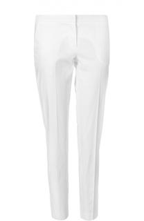 Прямые хлопковые брюки со стрелками Ermanno Scervino