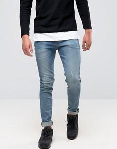 Зауженные синие джинсы ASOS - Синий