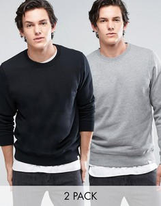 Jack & Jones Crew Neck Sweatshirt 2 Pack SAVE - Мульти