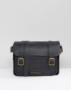 Кожаный портфель Dr Martens 11 - Черный