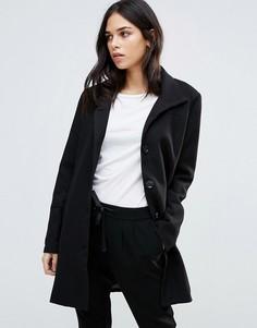 Куртка с воротником-трубой b.Young - Черный