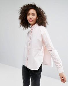 Полосатая рубашка со вставками Monki - Мульти