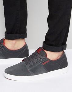 Замшевые кроссовки Supra Stacks II - Серый